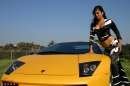 Yellow Lamborghini picture 2