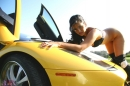 Yellow Lamborghini picture 21