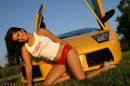 Yellow Lamborghini picture 7