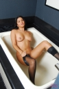 Sunny Pleases Herself In The Bath Tub picture 24