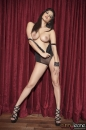 Red Curtain Black Lingerie Strip picture 27
