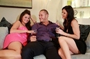 Glamour threesome picture 14